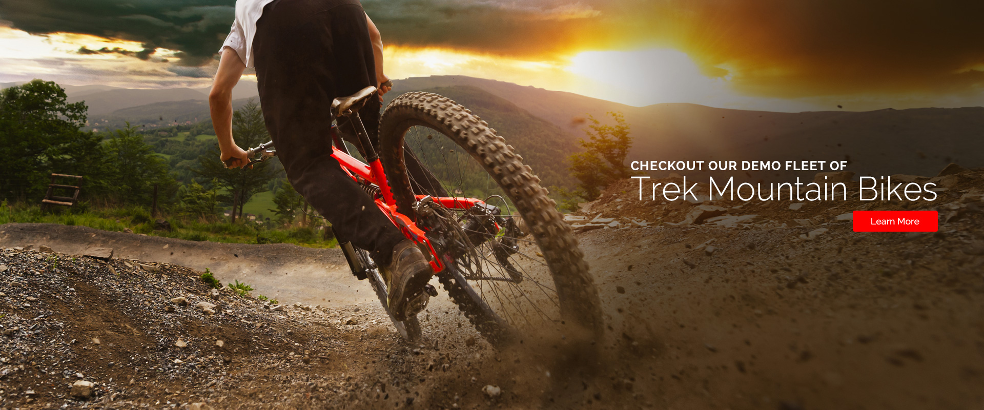 Checkout our demo fleet of Trek mountain bikes